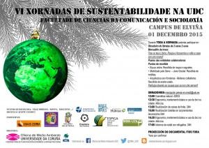 Cartaz VI Xornada Sustentabilidade UDC